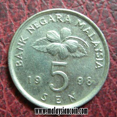 Malaysia 5 sen