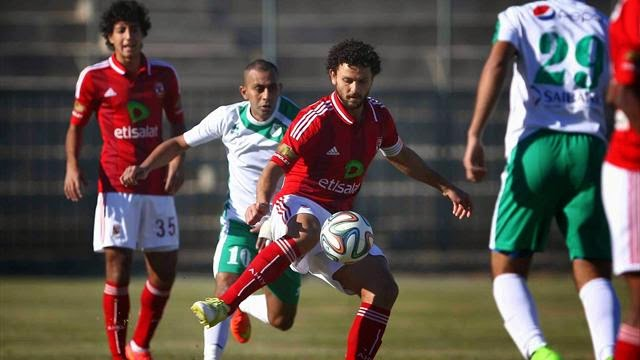 أهداف مبارة الأهلي 1-1 بتروجيت الدورى المصرى