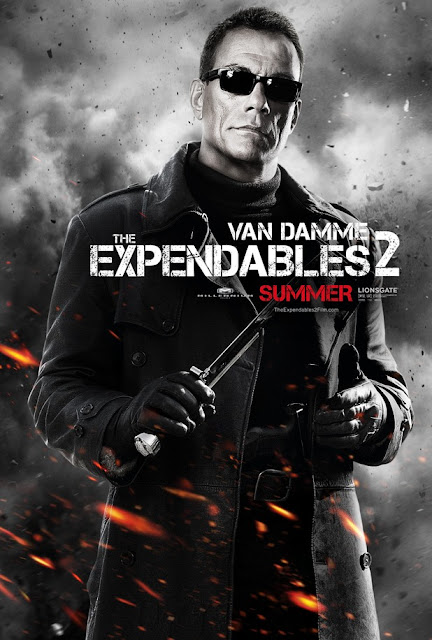 the expendables 2  van damme