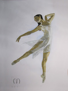 frozen dance watercolors by metris