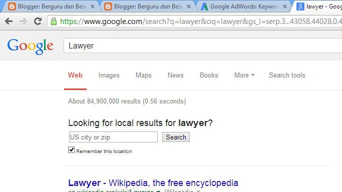 Niche Blog Terbaik Lawyer
