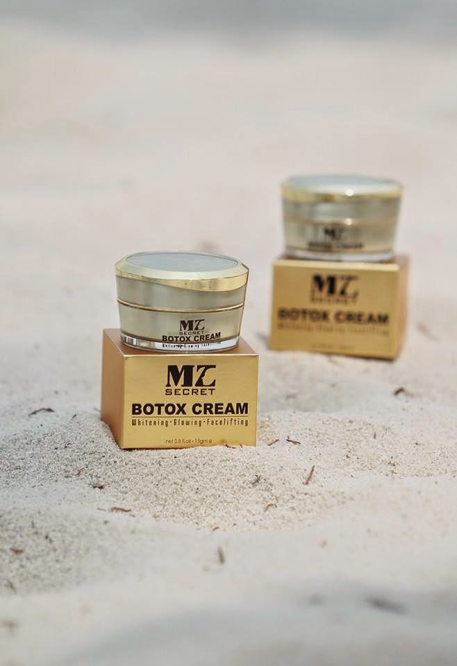 botox cream mz secret