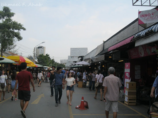 Perimeter road of Chatuchak Weekend Market