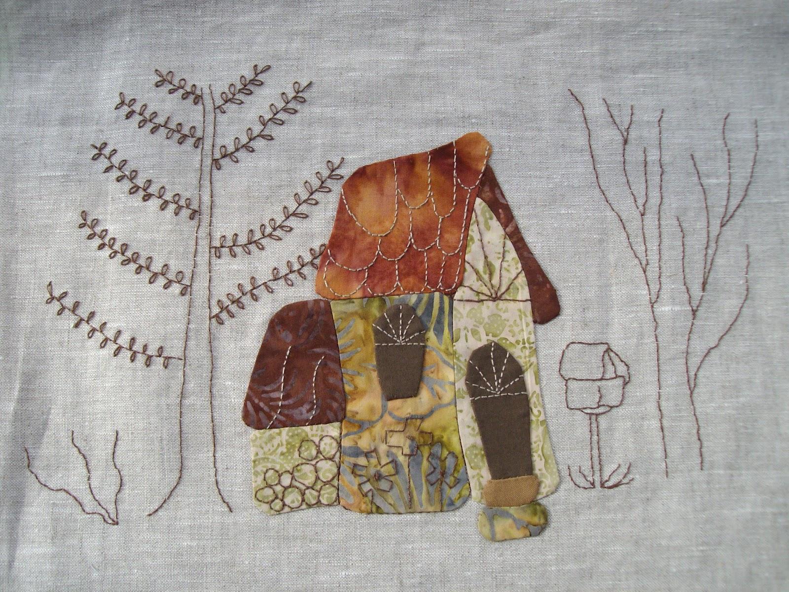 El taller de maite cuadro de eva gustems - Patrones casas patchwork ...