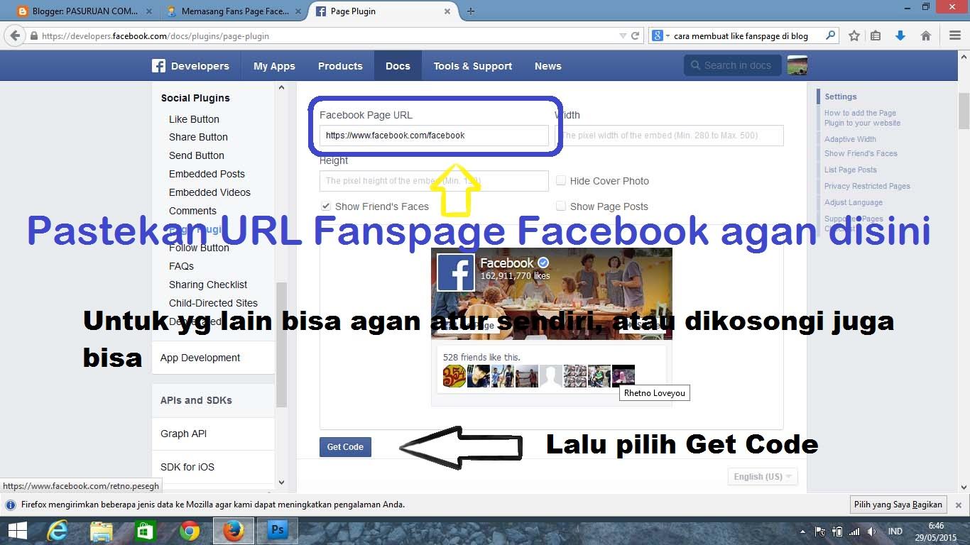 how to get a facebook widget