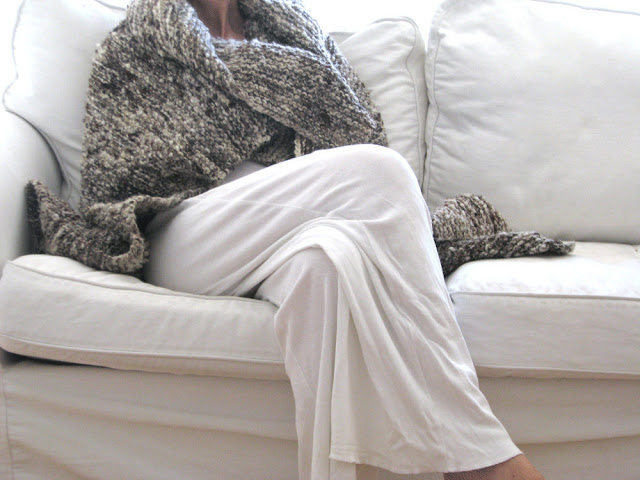 Chunky throw blanket by tricotaria