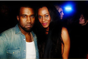 KANYE WEST WITH TANZANIAN ROSEMARY KOKUHILWA