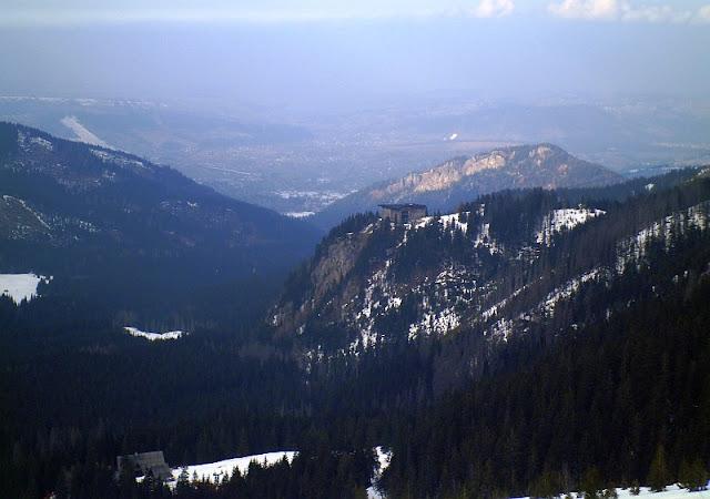 Widok w stronę Zakopanego z Doliny Goryczkowej