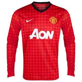 Kostum (Jersey) Terbaru Manchester United  Musim 2012-2013