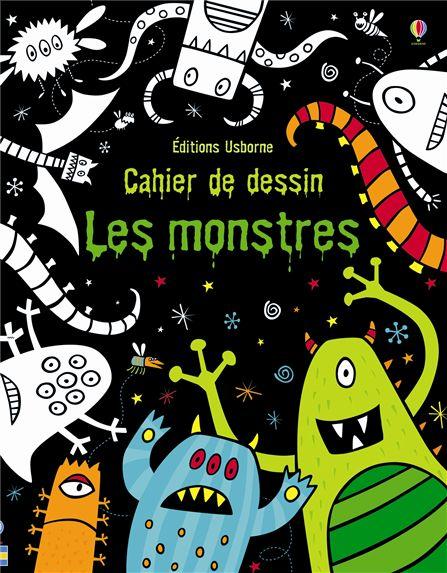 Les mercredis de julie cahier de dessin les monstres - Dessins monstres ...