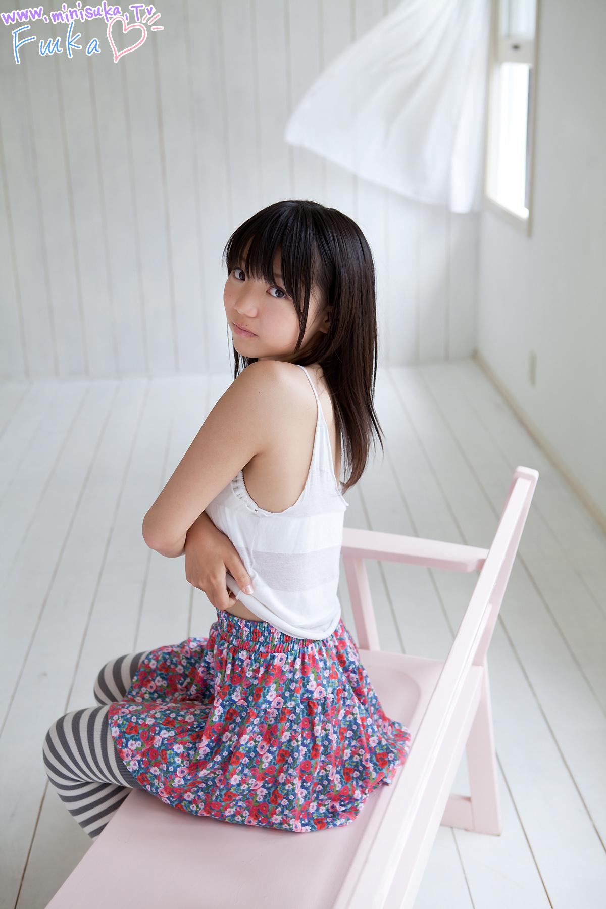 Fuuka Nishihama 西浜ふうか | U15 Kawaii Cameltoe Doggy Style Collection-Japanese  Girls Photo Gallery