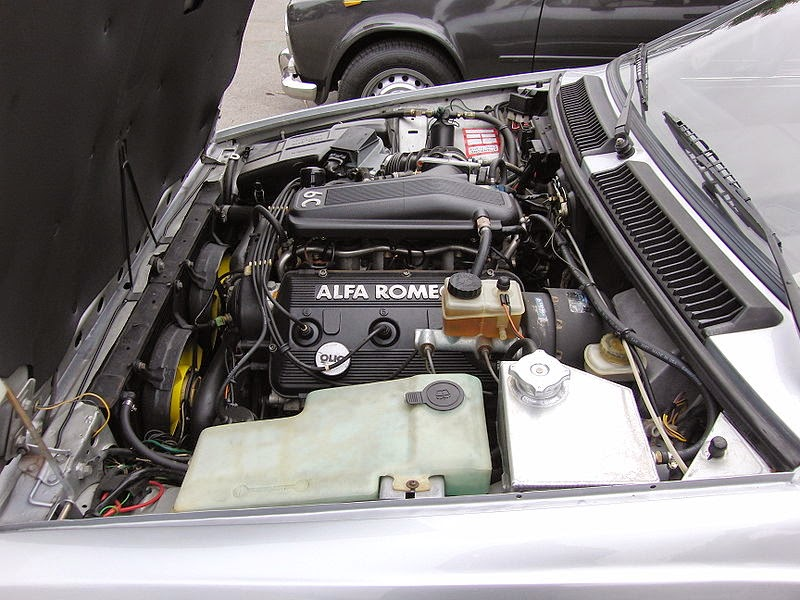 Gtv Engine on Alfa Romeo Gtv6 Engine