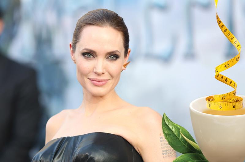 Angelina Jolie'ye 3 Haftada 11 Kilo Verdiren Çay