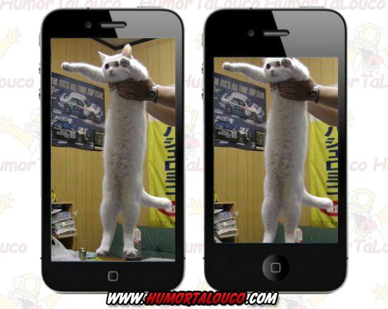 Melhores piadas sobre o iPhone 5 - iPhone tela maior