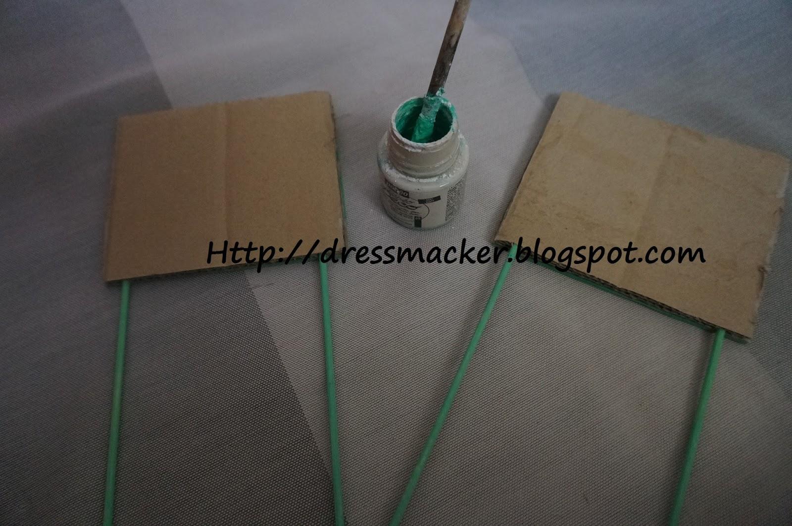 Dressmaker tutorial diy hacer pintura de pizarra - Hacer pintura pizarra ...