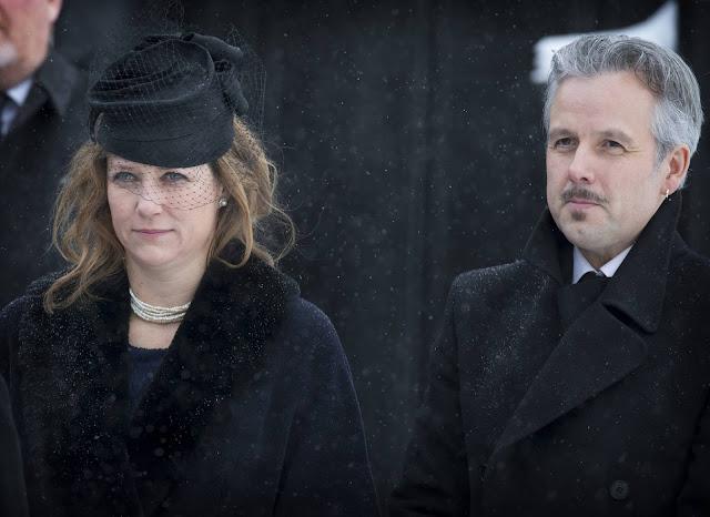 Johan Martin Ferner Funeral in Oslo