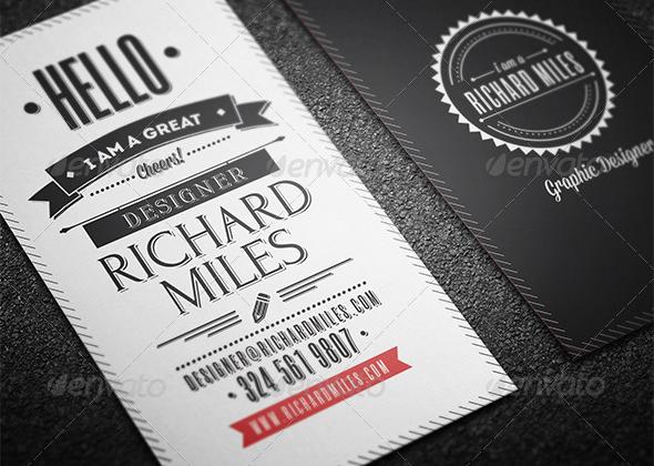 10 top retro business cards print templates top 10 graphics