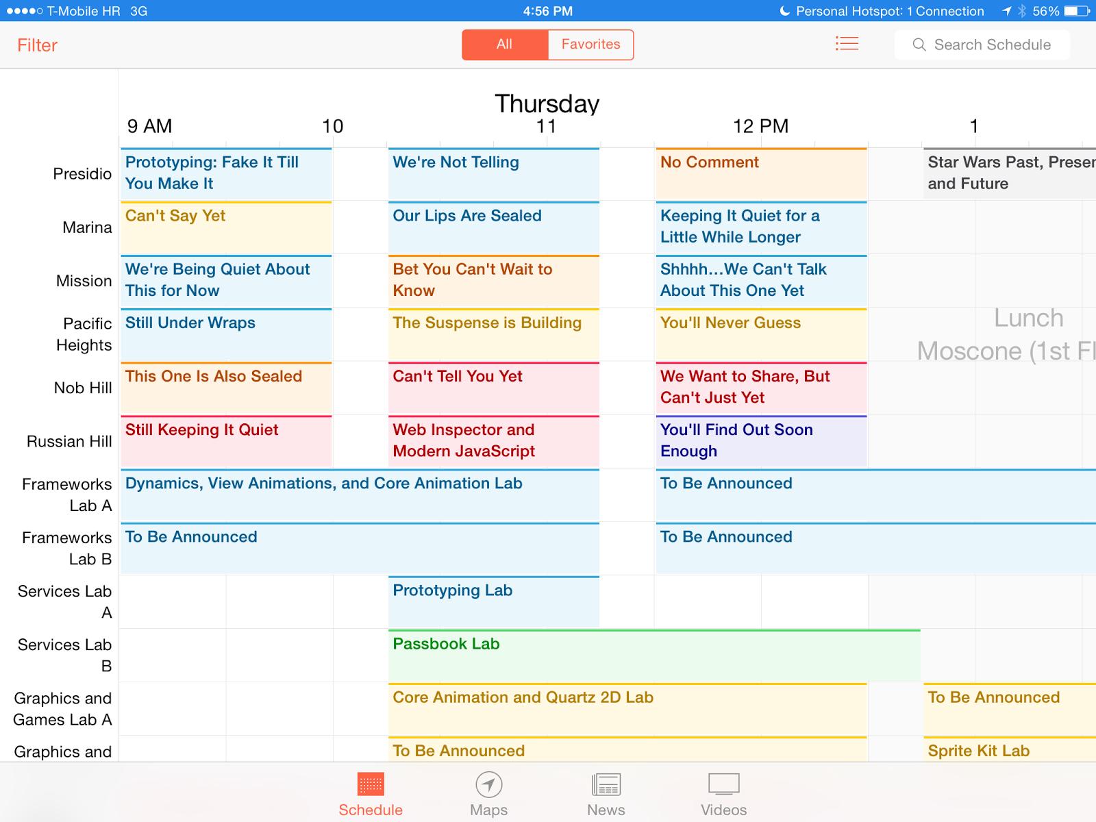 WWDC App v2.0 2014