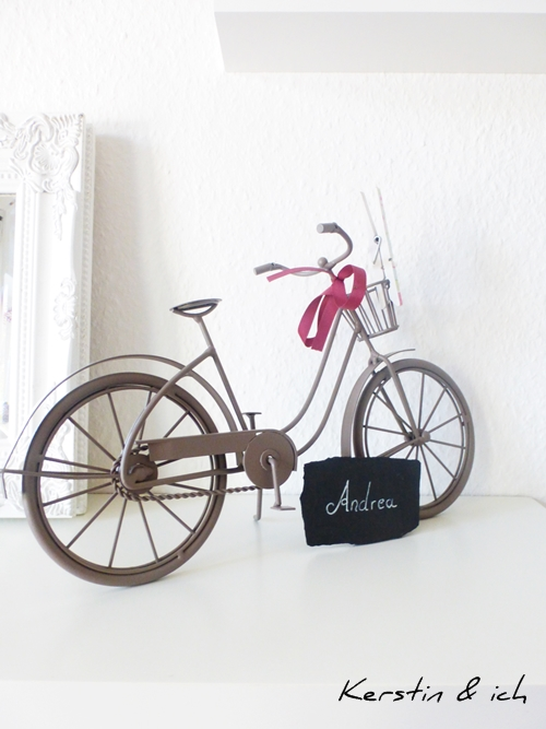 Dekoration Deko Fahrrad