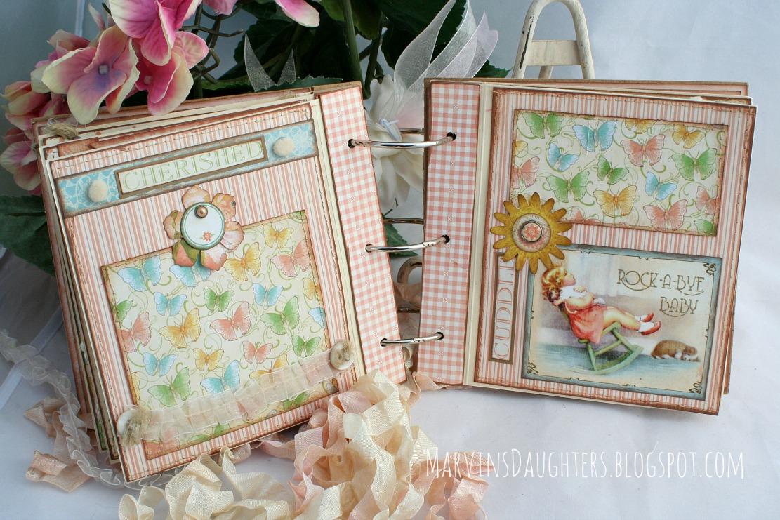 How to scrapbook baby book - Handmade Scrapbook