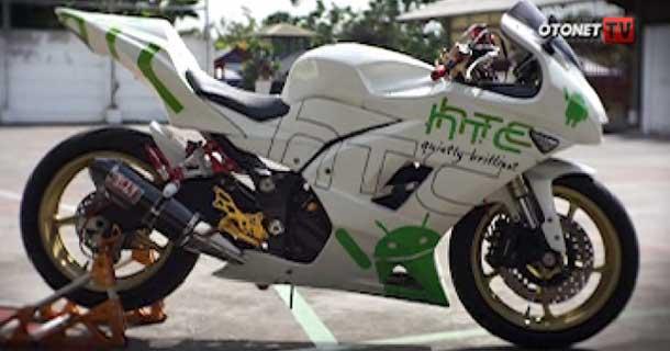 Modifikasi Ninja 250 Kawasaki memang tak ada habisnya untuk diulas  title=