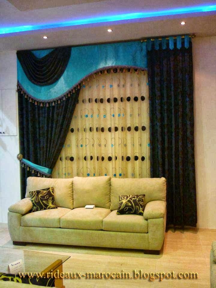 rideaux marocain double rideau occultant original. Black Bedroom Furniture Sets. Home Design Ideas