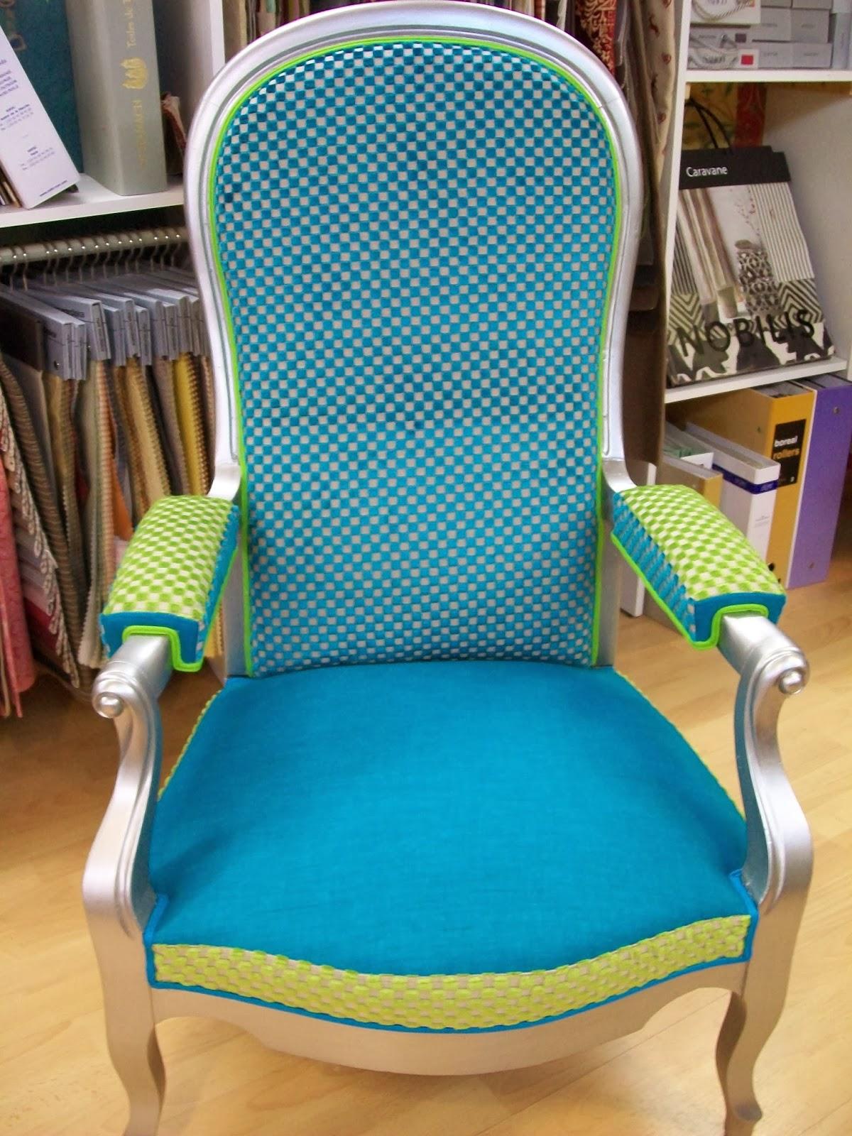 L 39 fauteuil voltaire relooker - Fauteuil voltaire design ...