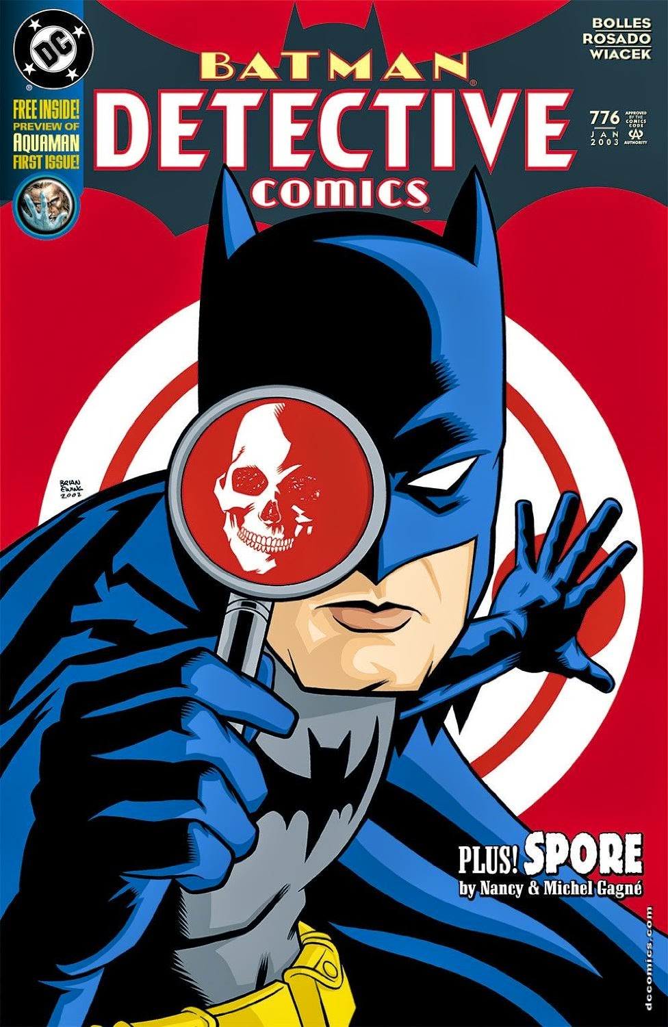 DC Comics - Detective Comics #776 Cover Artwork by Brian Ewing