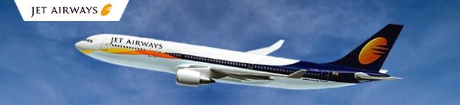 JetAirways - 20% to 68% OFF in Flight Ticket