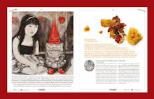 publicación en la revista Cusine&Vins agosto 2013