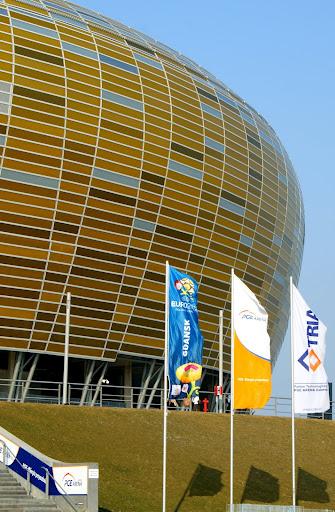 Detalhe lateral PGE Arena