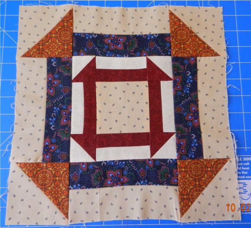 HuggiesCrafts: Underground Railroad Quilt Blocks 1 to 9