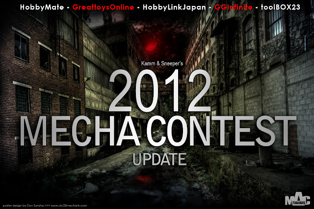 2012 Mecha Contest at MAC forums poster