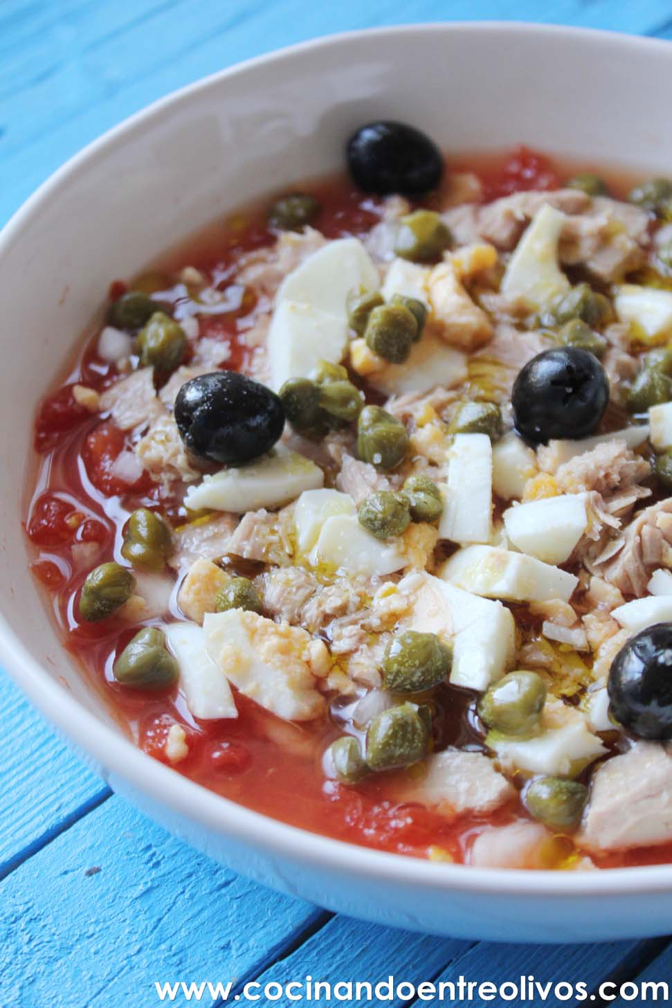 Cocinar Entre Olivos | Ensalada Murciana Receta Paso A Paso Cocinando Entre Olivos