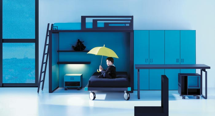 Dormitorios juveniles modernos literas – dabcre.com