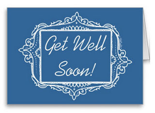 Get Well Soon Greeting Card /by TsipiLevin