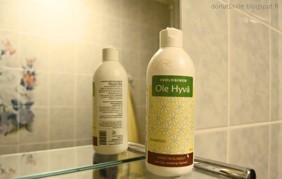 hyvä shampoo