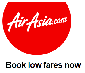 Harga tiket AirAsia serendah RM0.51 sahaja! tiket promosi air asia, tiket murah air asia