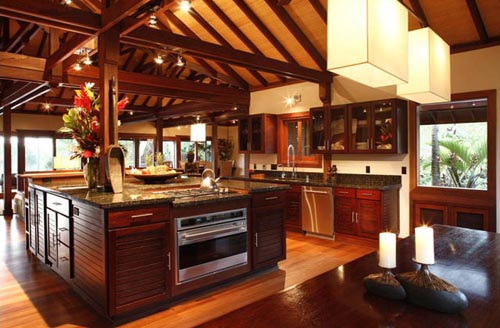 Luxury interior design allthingabout for Tropical kitchen decor