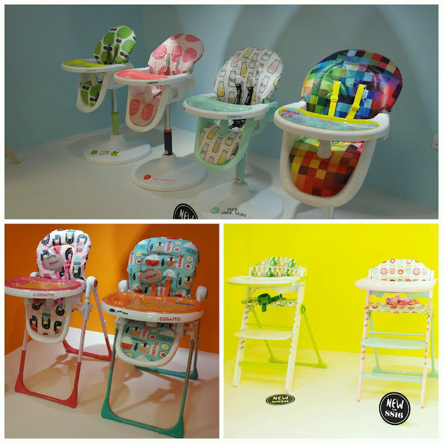 New Cosatto highchair patterns 3Sixti Noodle Supa Waffle Chopsticks Hapi Apple 2 Kokeshi Smile
