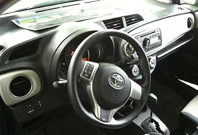 2012 Toyota Yaris Interior - Subcompact Culture