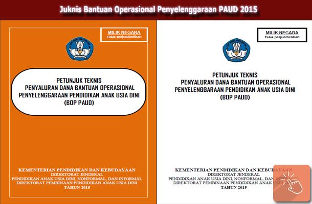 Juknis Bantuan Operasional Penyelenggaraan PAUD 2015