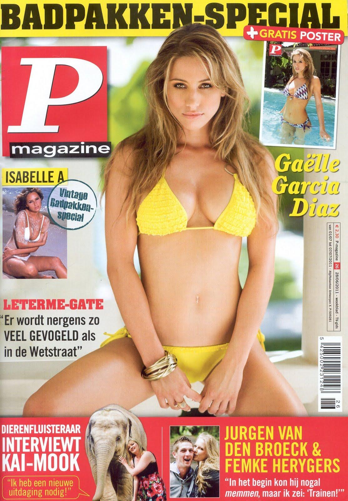 Current June Issue Of P Belgium Magazine Even More Sey Gaelle