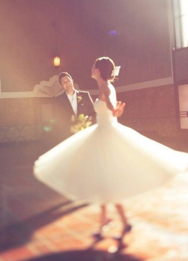 bridal twirl