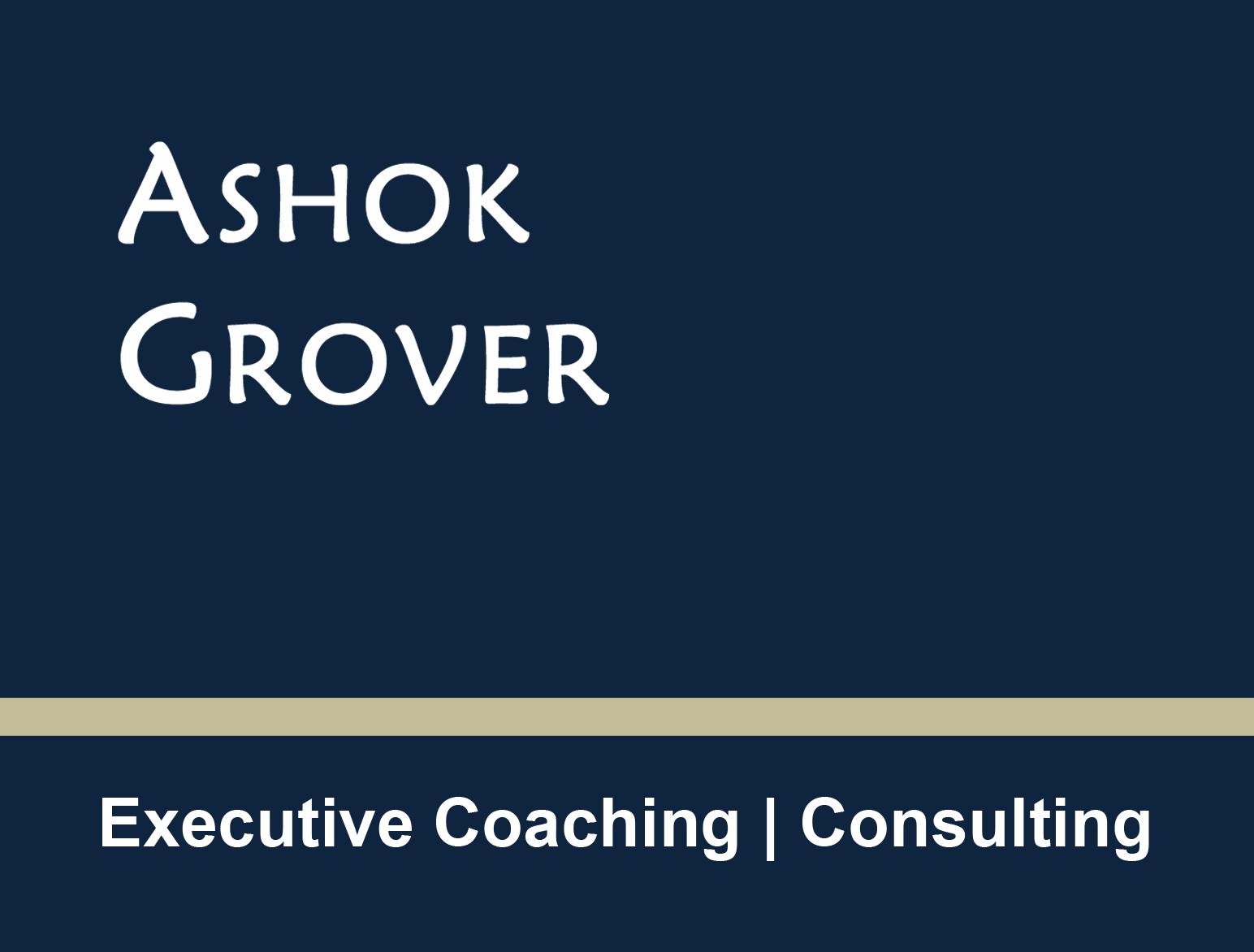 Ashok Grover Consulting