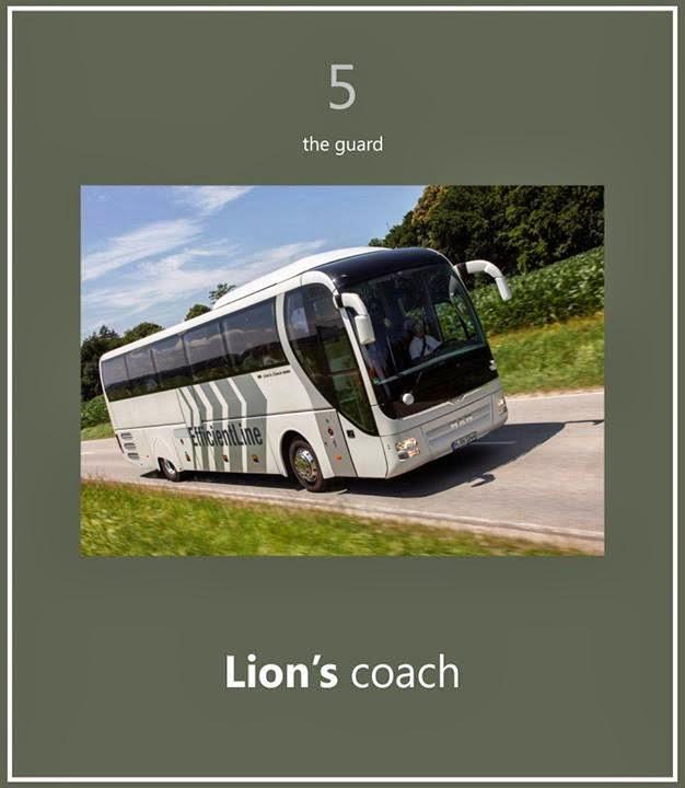 Lion's Coach 7 Bus terbaik Dunia
