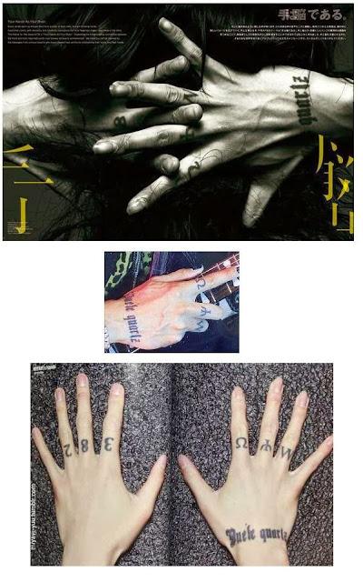 Co Miyavi Germany Meanings Of Miyavi S Tattoos English