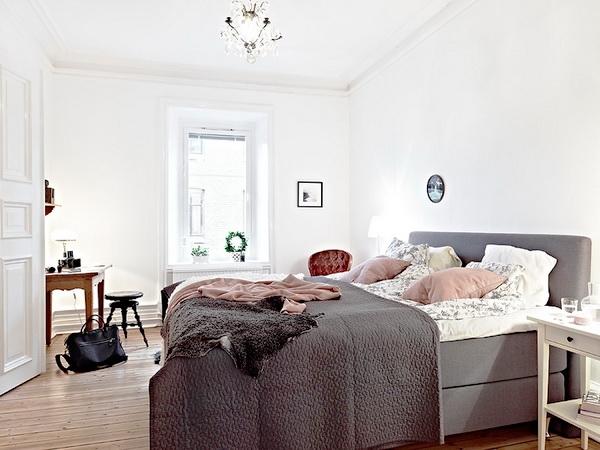 Ropa de cama gris
