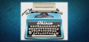 """Reconocimiento """"AHINCO"""""""