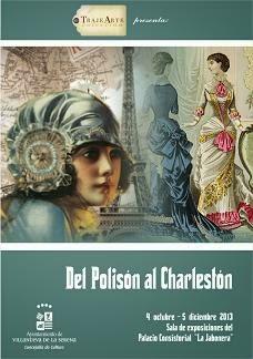 Exposiciones: Del Polisón al Charlestón